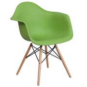 Flash Furniture Plastic Chair(FH132DPPGN)