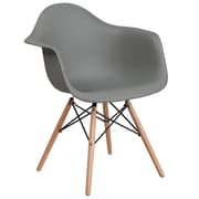 Flash Furniture Plastic Chair 2 (2FH132DPPGY)