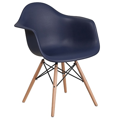 Flash Furniture Plastic Chair 2 (2FH132DPPNY)