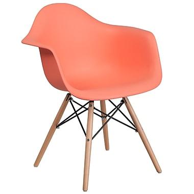 Flash Furniture Plastic Chair 2 (2FH132DPPPE)