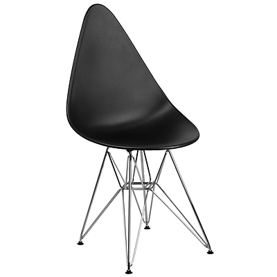 Flash Furniture Plastic Chair 2 (2FH251CPPBK)