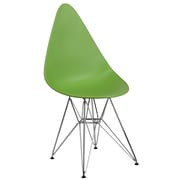 Flash Furniture Plastic Chair 2 (2FH251CPPGN)