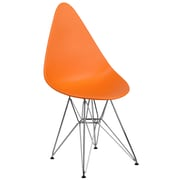 Flash Furniture Plastic Chair(FH251CPPOR)