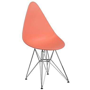 Flash Furniture Plastic Chair(FH251CPPPE)