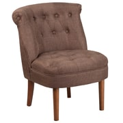 Flash Furniture Fabric Tufted Chair Brown(QYA01BN)