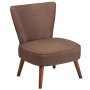 Flash Furniture Fabric Retro Chair, Brown (QYA02BN)