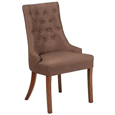 Flash Furniture Fabric Tufted Chair Brown(QYA08BN)