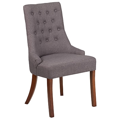 Flash Furniture Fabric Tufted Chair Gray(QYA08GY)