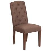 Flash Furniture Fabric Parsons Chair Brown(QYA189325BN)
