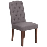 Flash Furniture Fabric Parsons Chair Gray(QYA189325GY)