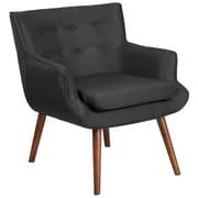 Flash Furniture Fabric Arm Chair, Black (QYB84BK)
