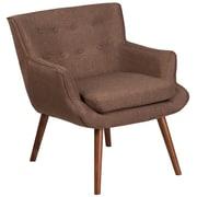 Flash Furniture Fabric Arm Chair Brown(QYB84BN)