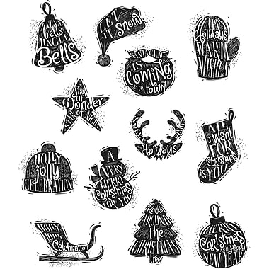 Stampers Anonymous Mini Carved Christmas Tim Holtz Cling Stamps, 7