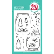 """Avery Elle Warm Wishes Clear Stamp Set, 4"""" x 6"""" (AE1726)"""