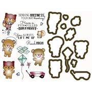 Little Darlings Outdoor Play Stamp & Die Set (LD3081)