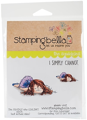Stamping Bella Squidgy Who Couldn't Cling Stamp, 6.5