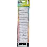 "Ranger Brickwork Dyan Reaveley's Dylusions Clear Stamp & Stencil Set, 12"" (DYZ54740)"