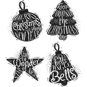 """Stampers Anonymous Carved Christmas #2 Tim Holtz Cling Stamps, 7"""" x 8.5"""" (CMS-314)"""