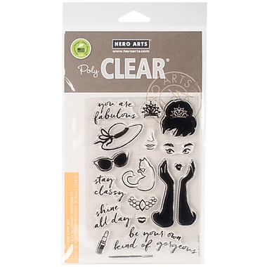 Hero Arts You Are Fabulous Clear Stamps, 4