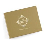 Hortense B. Hewitt Golden Anniversary Guest Book (55166ST)