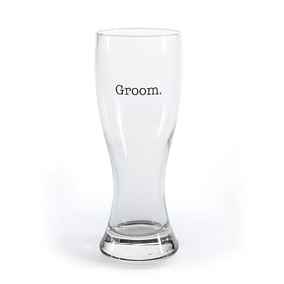 Hortense B. Hewitt 20-Ounce Grooms' Man Pilsner Groom (53604ST)