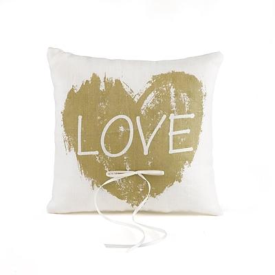 Hortense B. Hewitt Brush of Love Ring Pillow (21553ST)