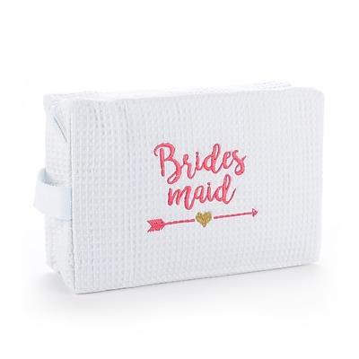Hortense B. Hewitt Wedding Party Tribal Bridesmaid Cosmetic Bag (55151ST)
