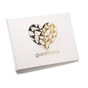 Hortense B. Hewitt Geo Heart Guest Book (54846ST)