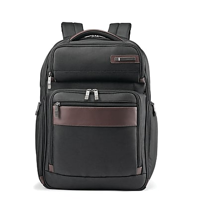 Samsonite Kombi Large Backpack Black/Brown Ballistic Nylon (92310-1051)
