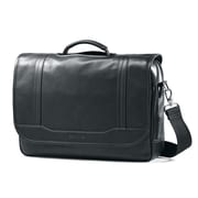 Samsonite Flapover Briefcase Brown Columbian Leather (50789-1139)