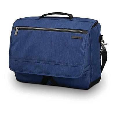 Samsonite Modern Utility Messenger Bag Vintage Navy Ripstop Polyester (89579-0661)