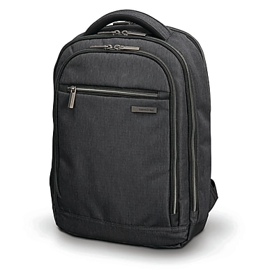 Samsonite Modern Utility Small Backpack Charcoal Heather Ripstop Polyester (89576-5794)