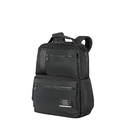Samsonite Open Road Laptop Backpack Jet Black Nylon/Poly Mix (77709-1465)