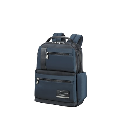 Samsonite Open Road Laptop Backpack Space Blue Nylon/Poly Mix (77707-1820)