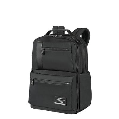 Samsonite Open Road Weekender Backpack Jet Black Nylon/Poly Mix (77711-1465)