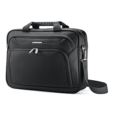 Samsonite Xenon 3 Techlocker Briefcase Black Ballistic Poly (89436-1041)