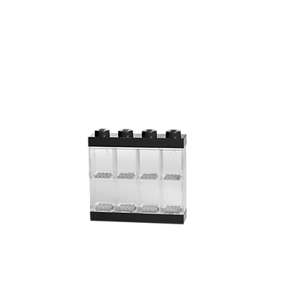 LEGO Minifigure Display Case 8 Black (40650603)