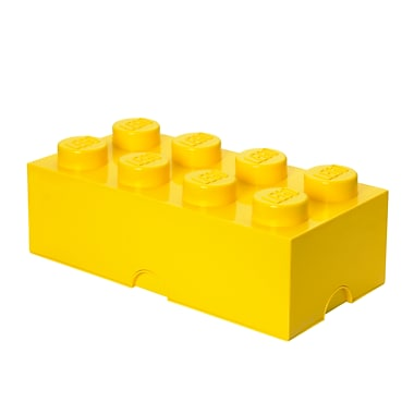 LEGO Storage Brick 8 Bright Yellow (40040632)