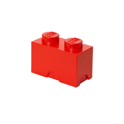 LEGO Storage Brick 2 Bright Red (40020630)