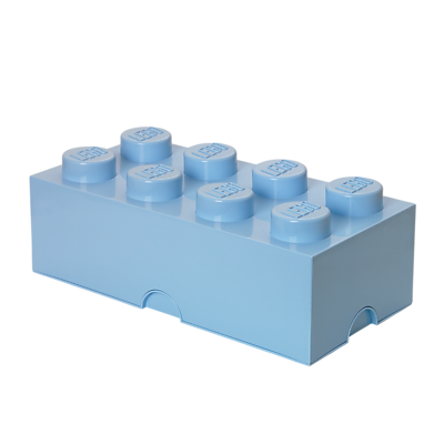 LEGO Storage Brick 8 Light Royal Blue (40040636)