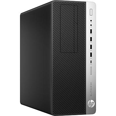HP EliteDesk 800 G3 Intel Core i7-6700 X4 3.4GHz 16GB 1TB Win10, Black (Certified Refurbished)