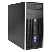 Compaq 6300 Intel Core i3-3220 X2 3.3GHz 4GB 250GB Win10, Black (Refurbished)