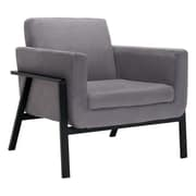 Zuo Homestead Cashmere Lounge Chair Gray 100765