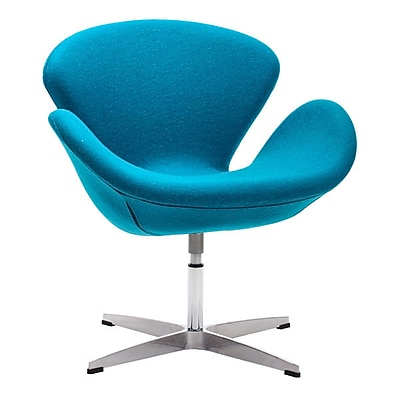 Zuo Pori Polyblend Occasional Chair Island Blue 500311