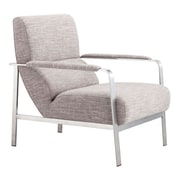 Zuo Jonkoping Polyblend Arm Chair Wheat 500348