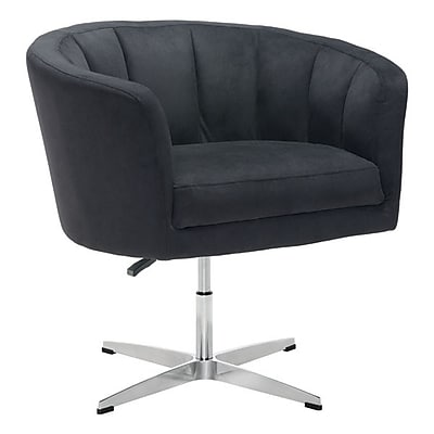 Zuo Wilshire Cashmere Occasional Chair Black 100768