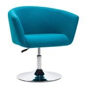 Zuo Umea Polyblend Occasional Chair Island Blue 500342