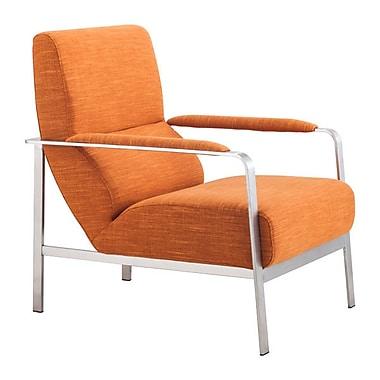 Zuo Jonkoping Polyblend Arm Chair Orange 500347