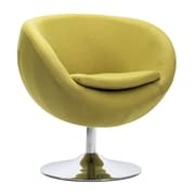 Zuo Lund Polyblend Occasional Chair Pistachio Green 500323