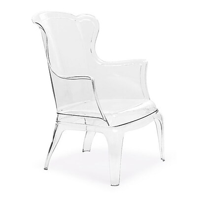 Zuo Vision N/A Occasional Chair Transparent 110030